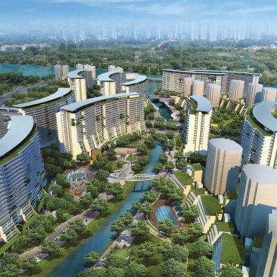 Punggol Waterway Public Housing