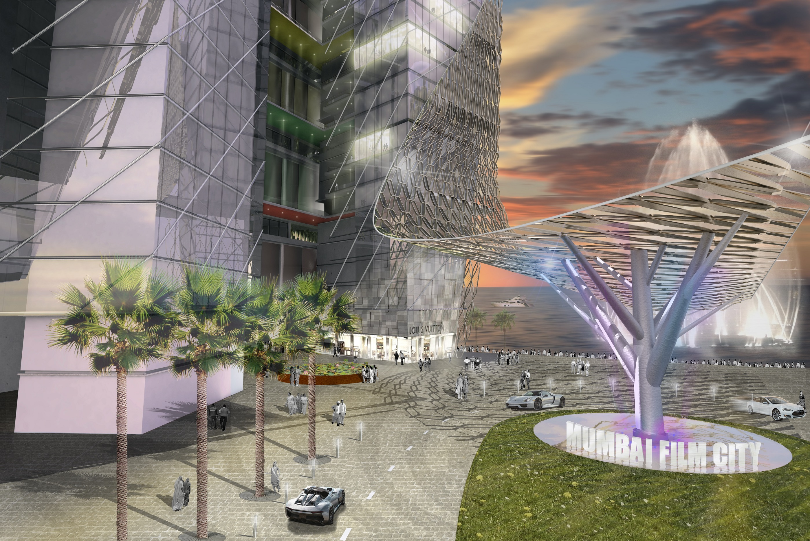 Vertical Film City - TENarchitects